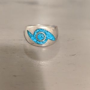 Stirling Silver Turquoise Ring